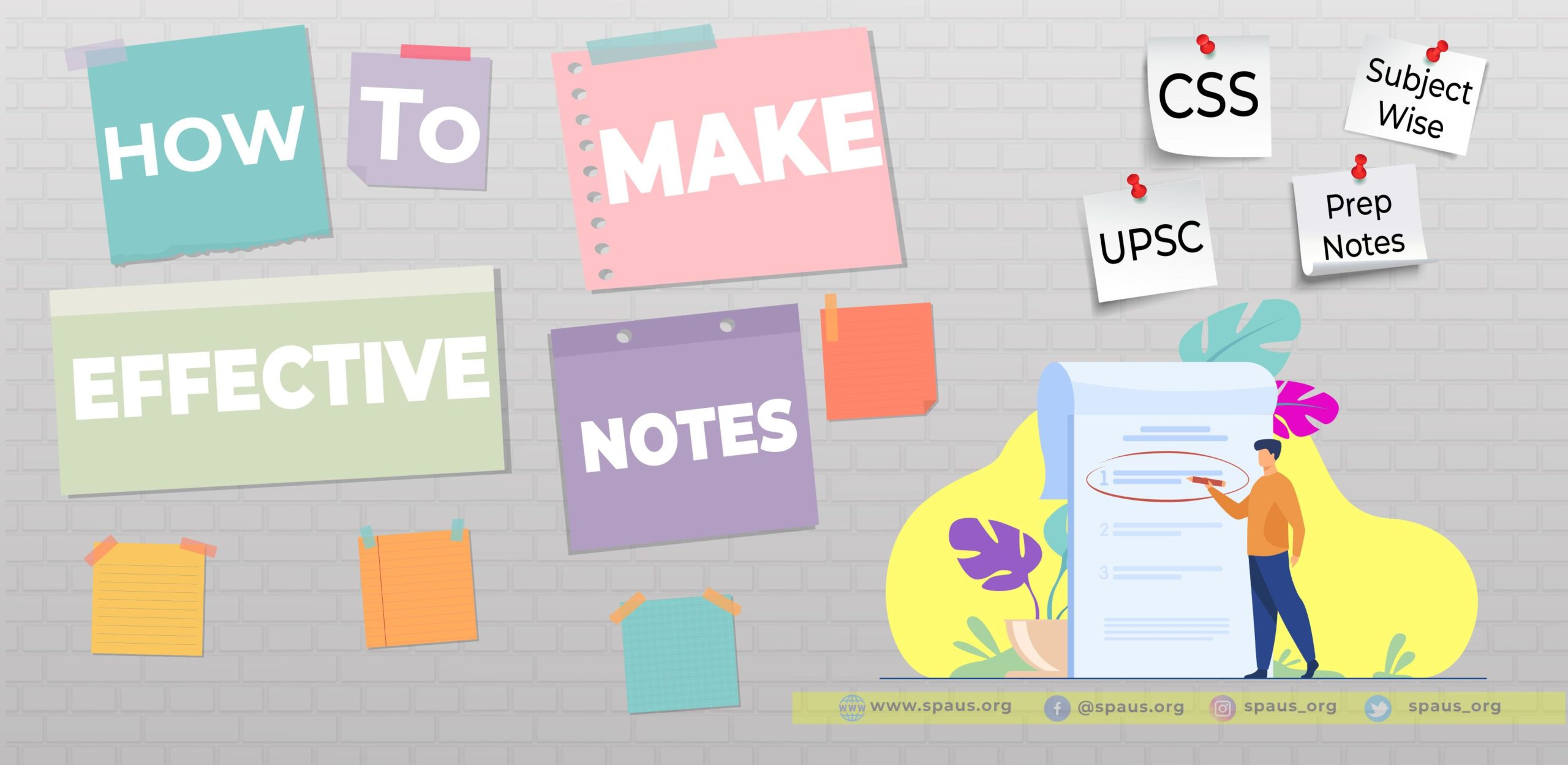 How To Make Effective Notes
