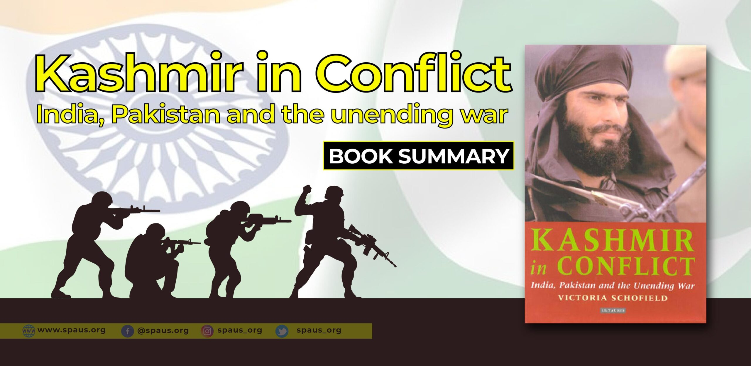 Kashmir in Conflict: India, Pakistan and the unending war by Victoria Schofield