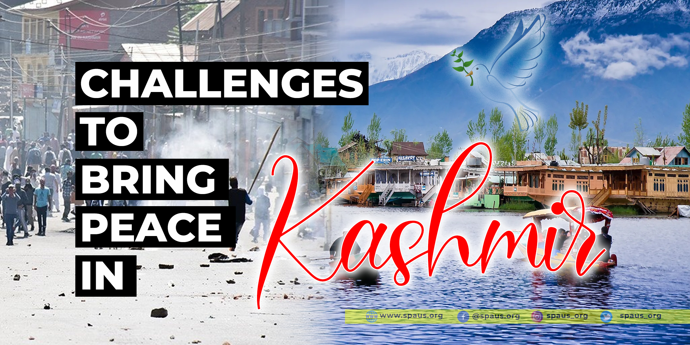 Challenges to bring peace in Kashmir